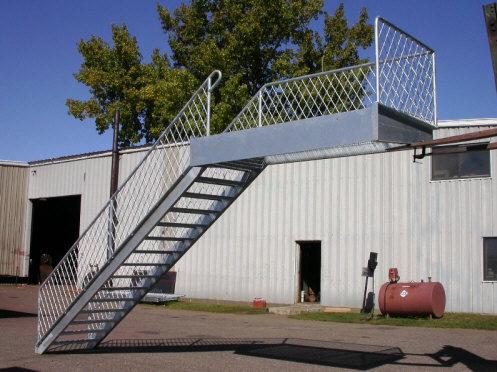 Escaleras y barandas metalicas - Barandillas metalicas para escaleras ...